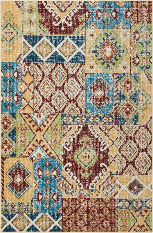 Aria Machine Woven Sunset Area Rugs