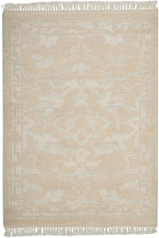 Elan Hand Knotted Ivory Area Rugs