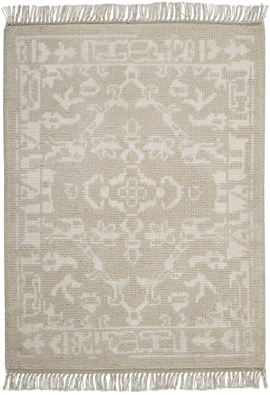 Elan Hand Knotted Light Grey Area Rugs