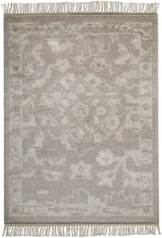Elan Hand Knotted Silver Area Rugs