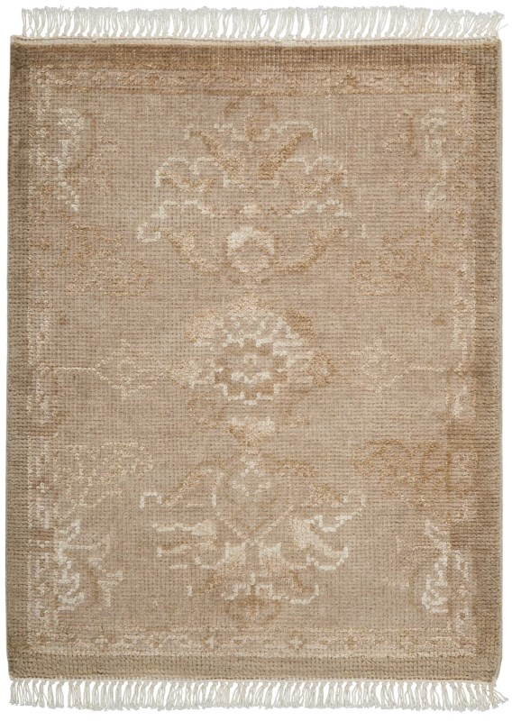 Elan Hand Knotted Gold Area Rugs