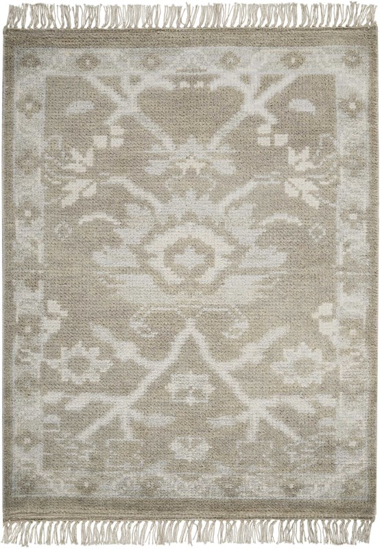 Elan Hand Knotted Grey Area Rugs