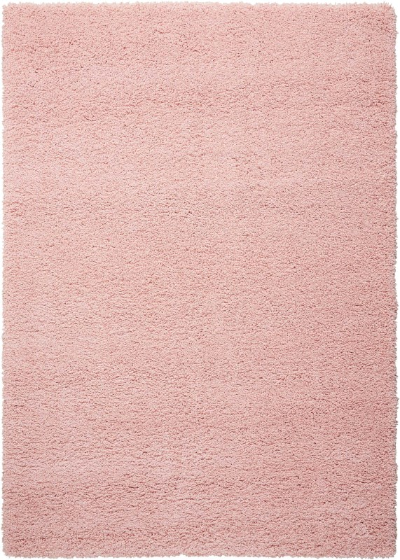 Amore Machine Woven Blush Area Rugs