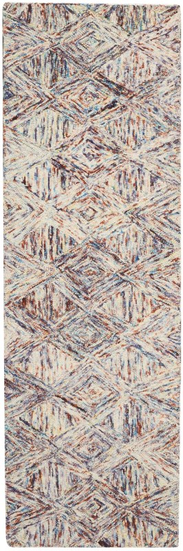 Linked Hand Tufted Denim Area Rugs