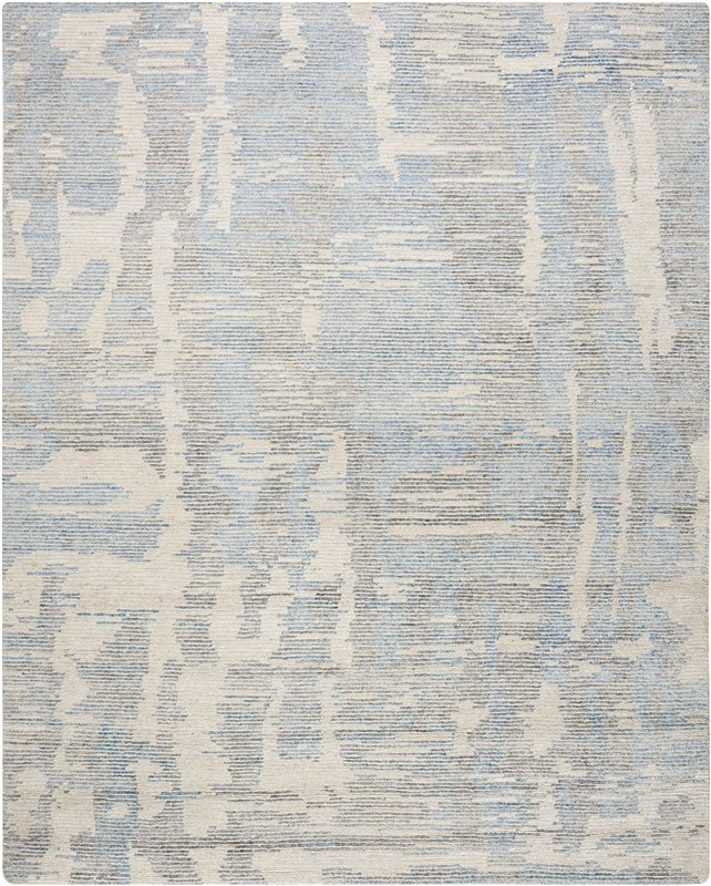 Ellora Hand Knotted Blue Area Rugs