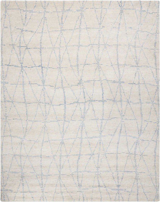 Ellora Hand Knotted Sky Area Rugs