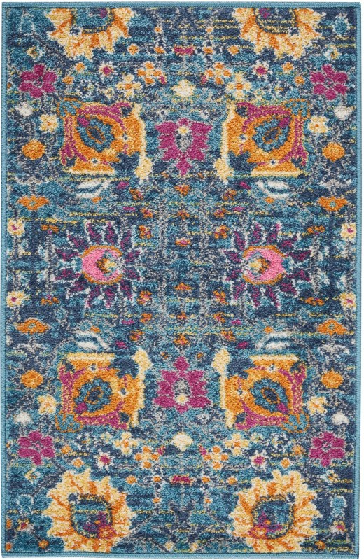 Passion Machine Woven Fuchsia Area Rugs