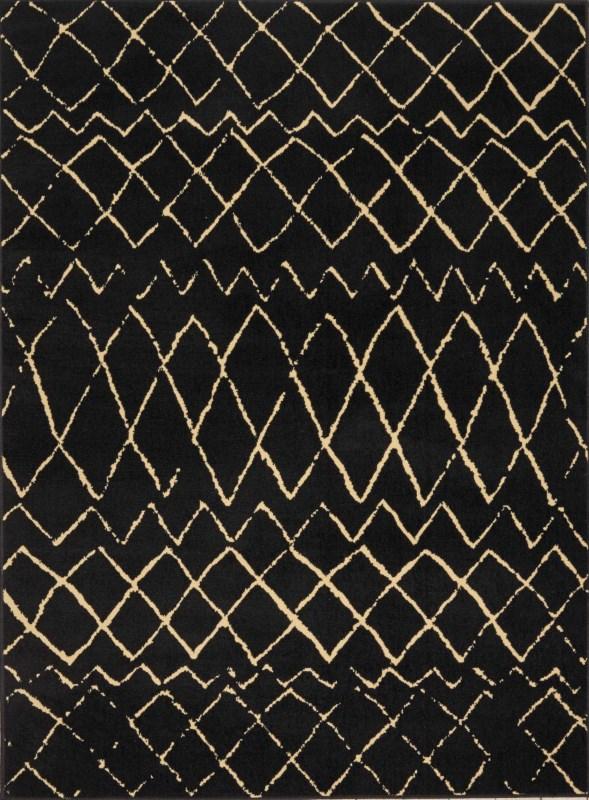 Grafix Machine Woven Grey Area Rugs