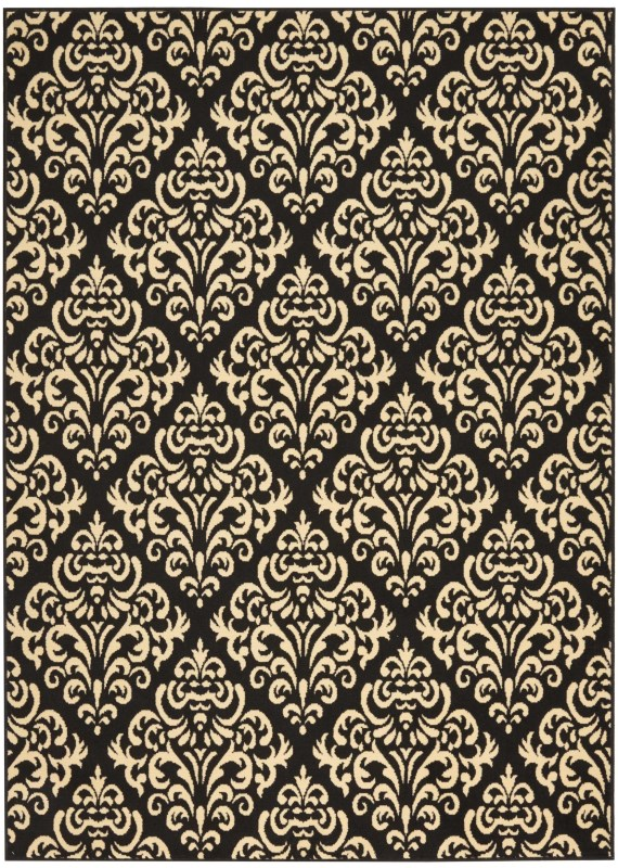 Grafix Machine Woven Cream Area Rugs