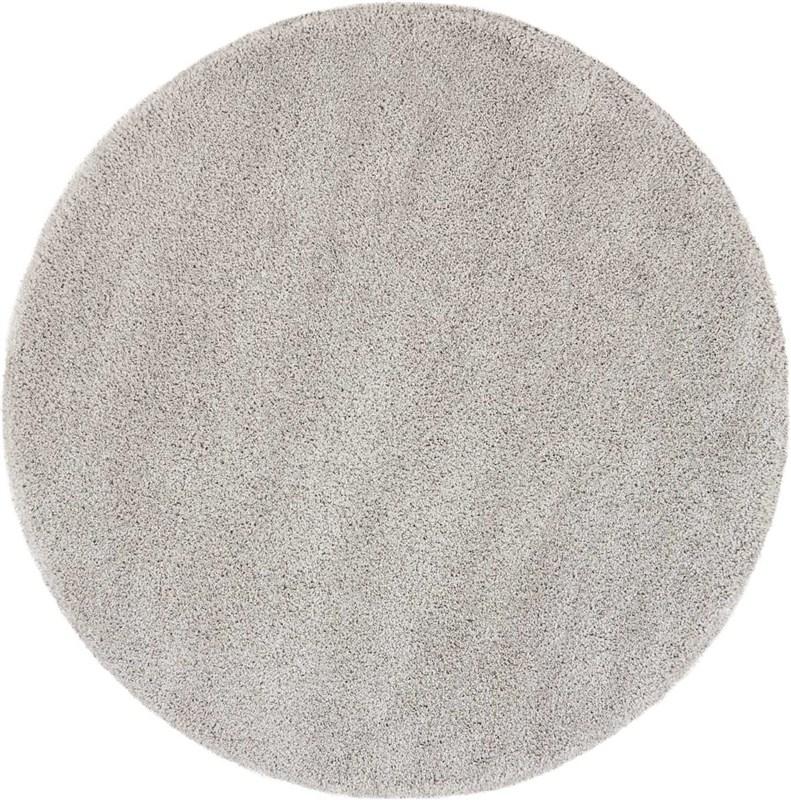 Malibu Shag Machine Woven Silver Grey Area Rugs