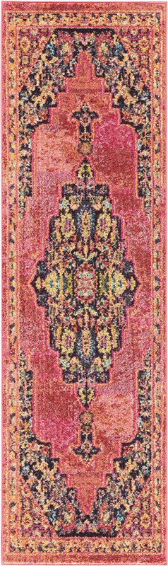 Nourison Passionate Pink Flame Area Rug