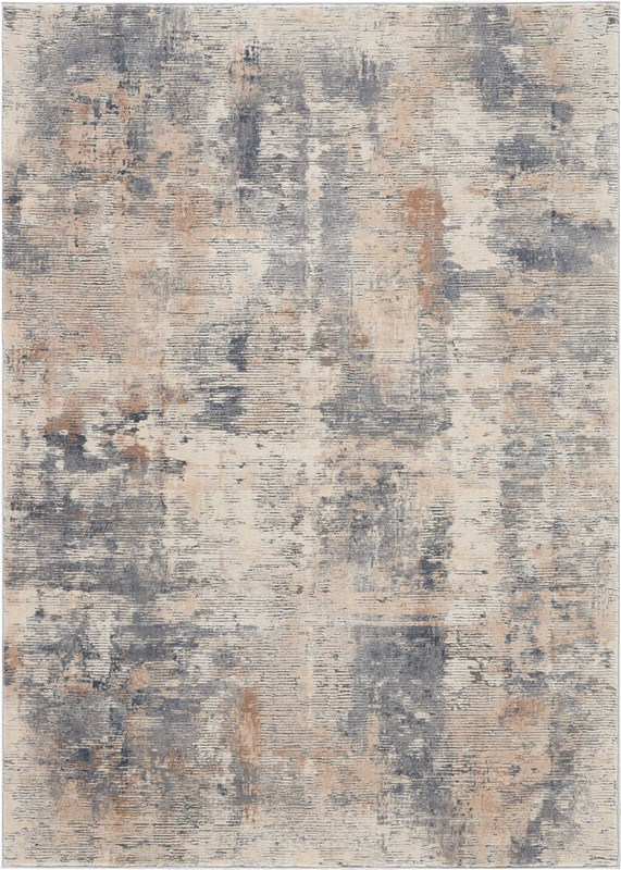 Rustic Textures Machine Woven Beige/grey Area Rugs