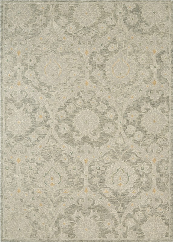 Jazmine Hand Tufted Grey Area Rugs