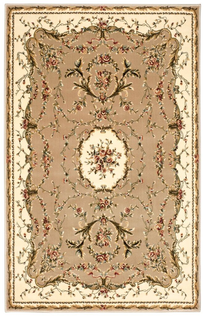 Bordeaux Machine Woven Cream Area Rugs