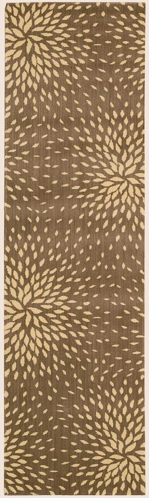 Capri Machine Woven Mocha Area Rugs