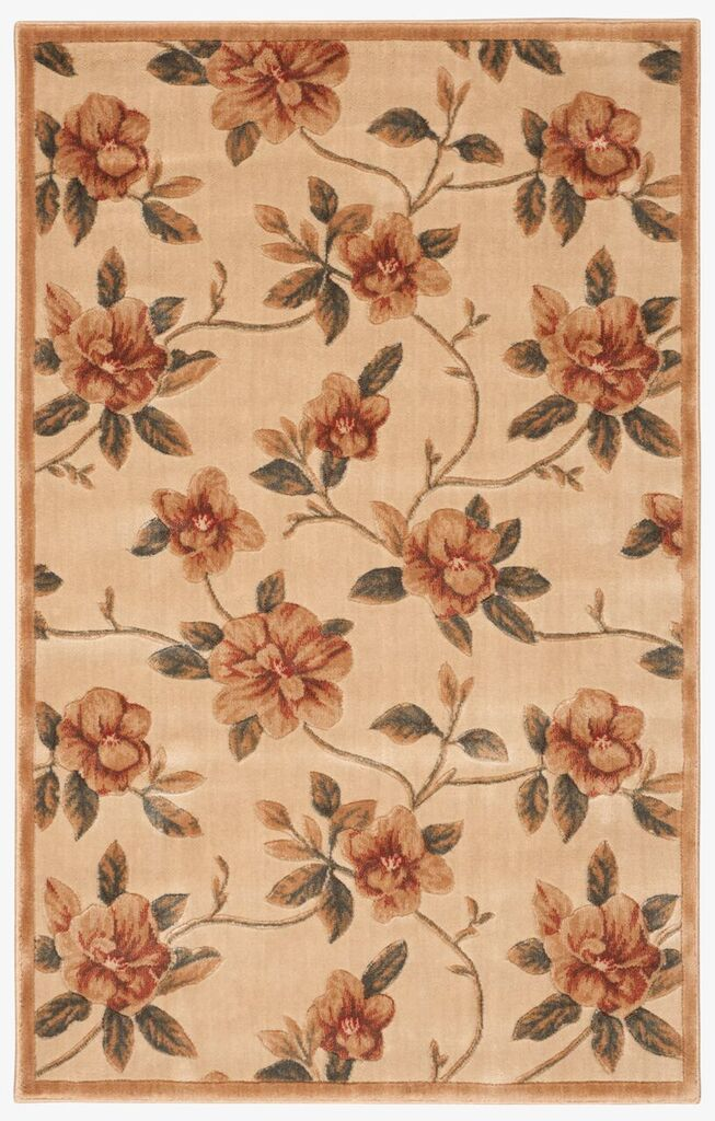 Cambridge Machine Woven Ivory Area Rugs