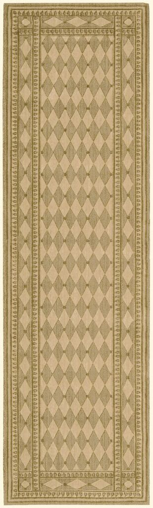Cosmopolitan Machine Woven Honey Area Rugs