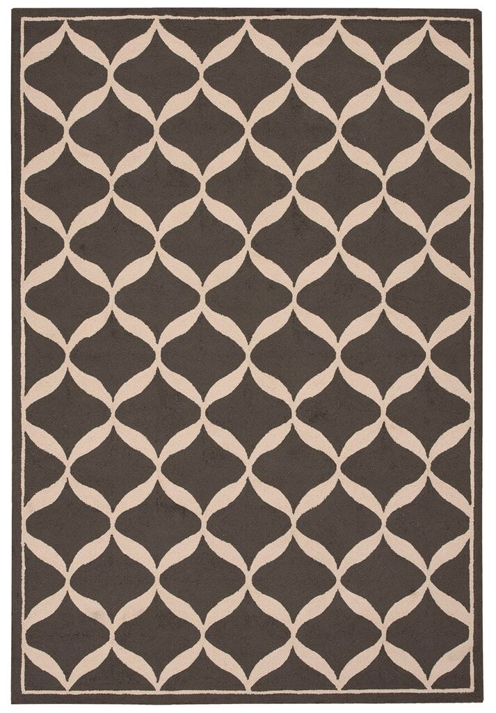 Decor Hand Tufted Grey White Area Rugs