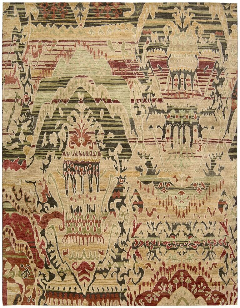 Dune Hand Knotted Earth Area Rugs