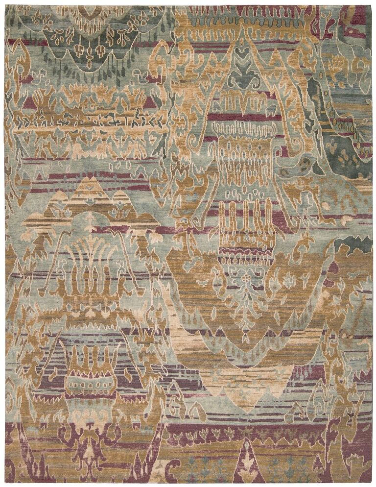 Dune Hand Knotted Mist Area Rugs