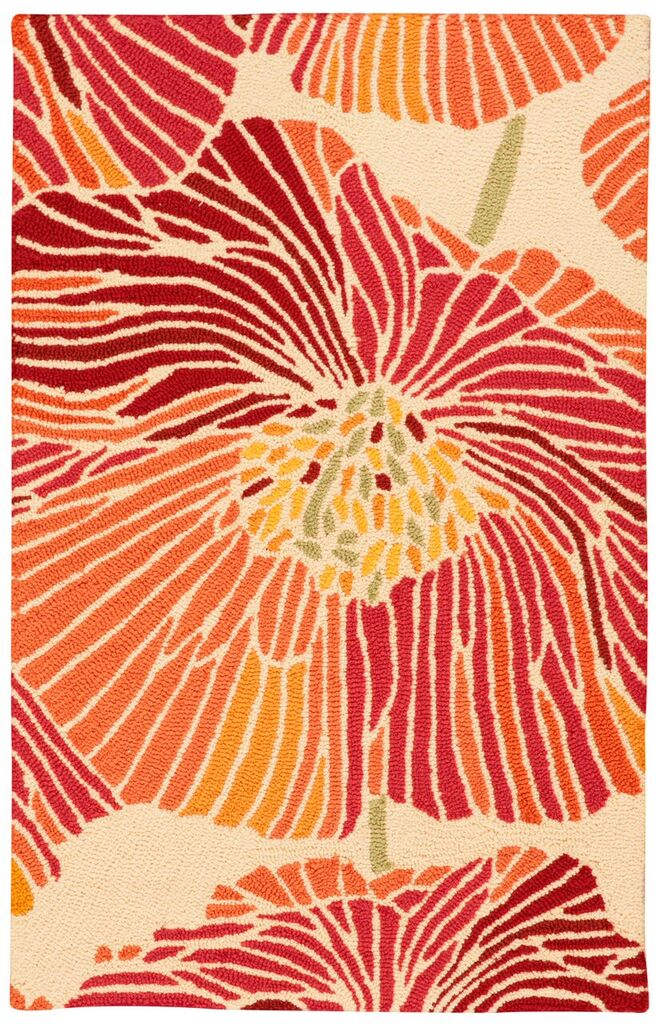 Fantasy Hand Hooked Sunset Area Rugs