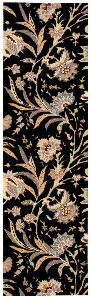 Gatsby Hand Tufted Black Area Rugs