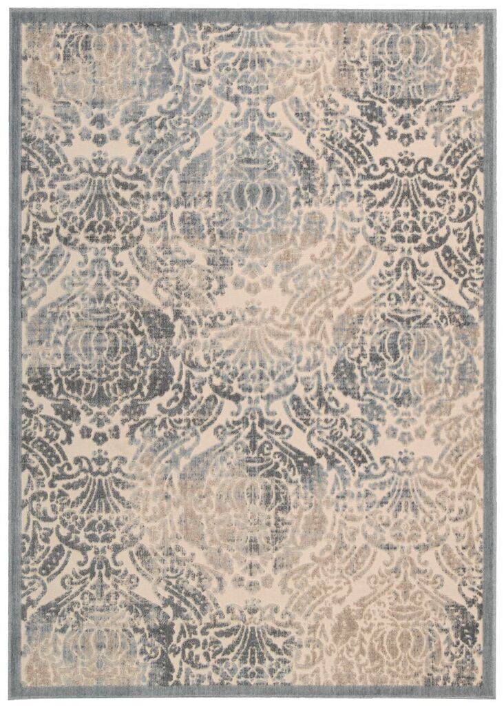 Graphic Illusions Machine Woven Sky Area Rugs
