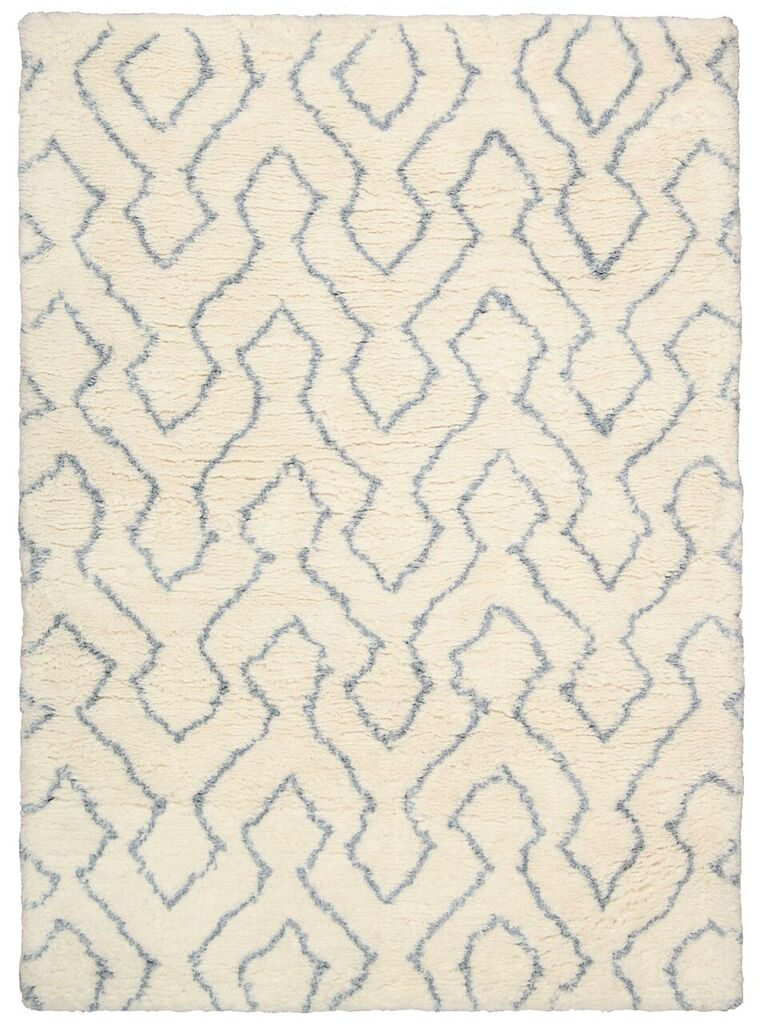 Galway Hand Tufted Ivory Blue Area Rugs