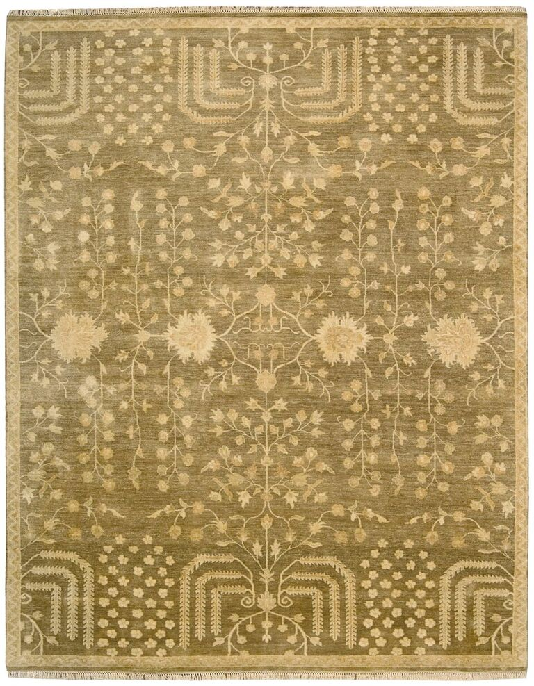 Grand Estate Hand Knotted Mushroom Area Rugs