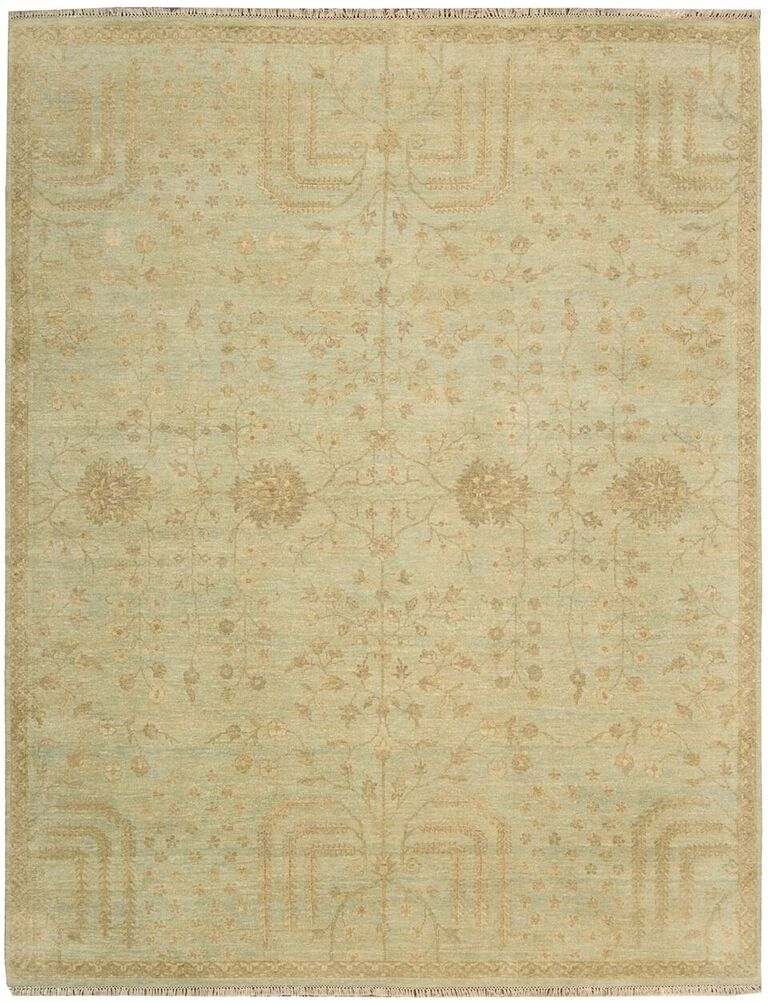 Grand Estate Hand Knotted Sky Area Rugs