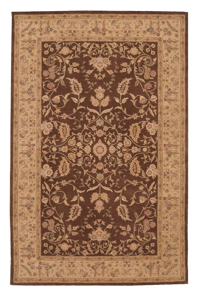 Heritage Hall Hand Tufted Brown Area Rugs