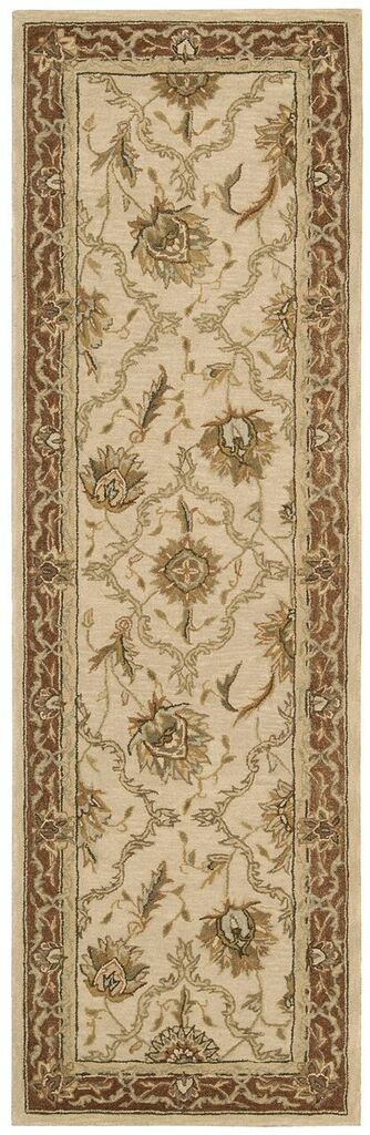 Heritage Hall Hand Tufted Mist Area Rugs
