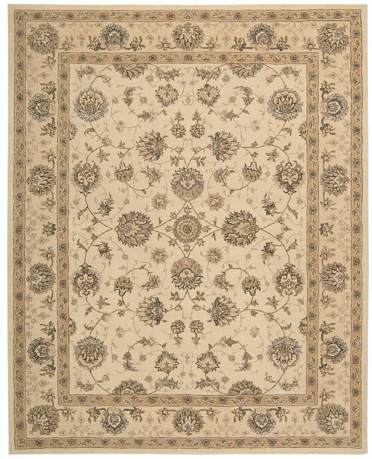 Heritage Hall Hand Tufted Cream Area Rugs