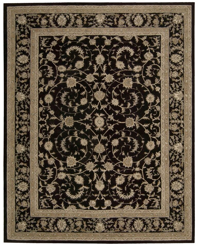 Heritage Hall Hand Tufted Black Area Rugs