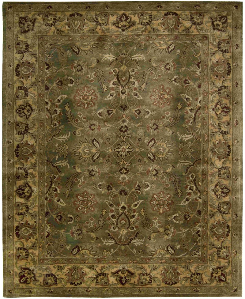 Jaipur Hand Tufted Green Area Rugs
