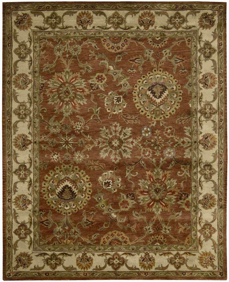 Jaipur Hand Tufted Rust Area Rugs