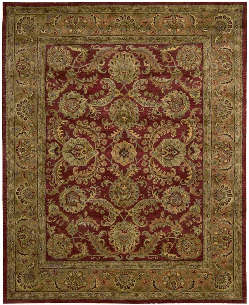 Jaipur Hand Tufted Burgundy Area Rugs