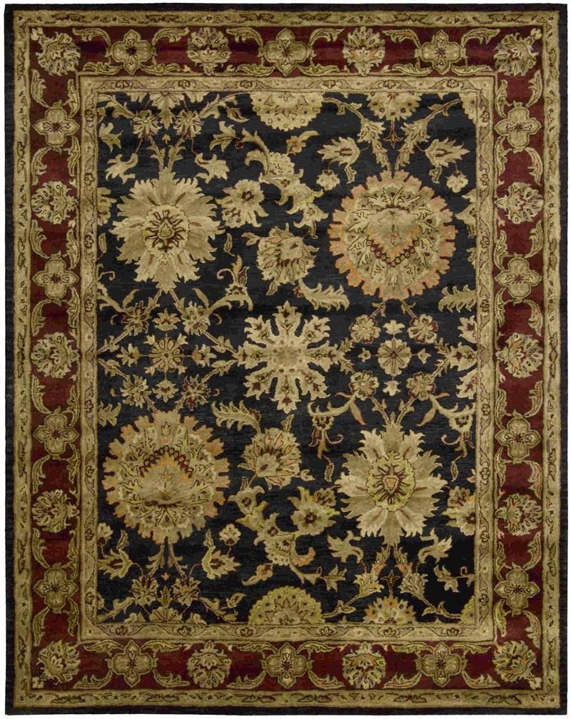 Jaipur Hand Tufted Black Area Rugs