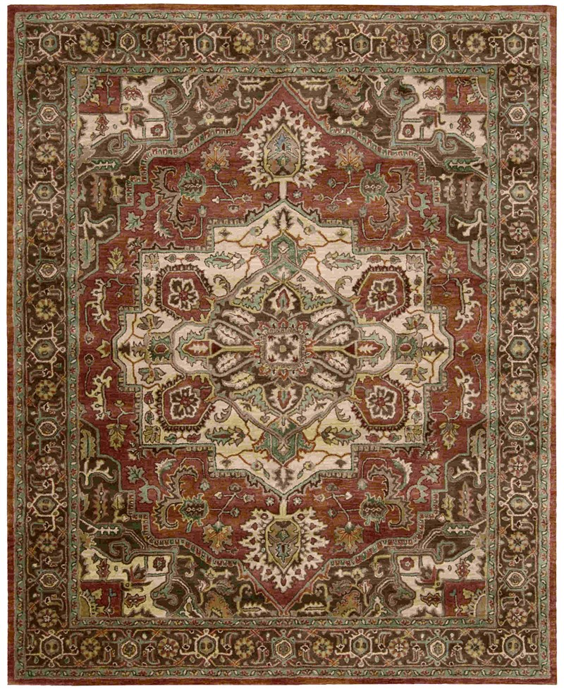 Jaipur Hand Tufted Red Area Rugs