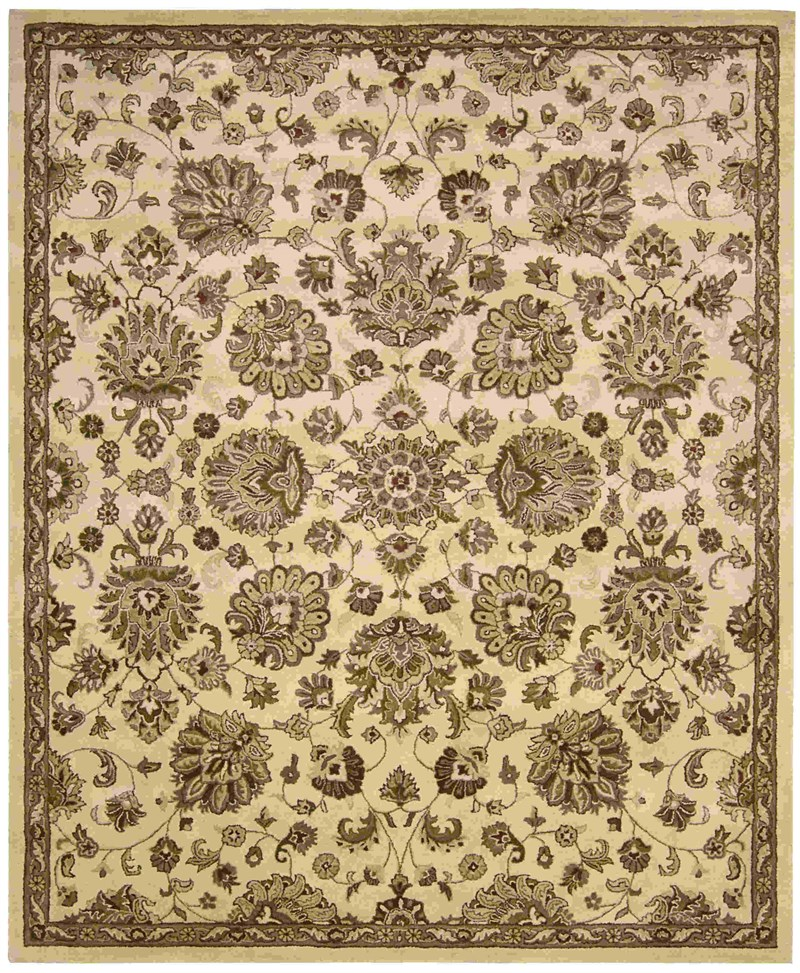 Jaipur Hand Tufted Ivory Area Rugs