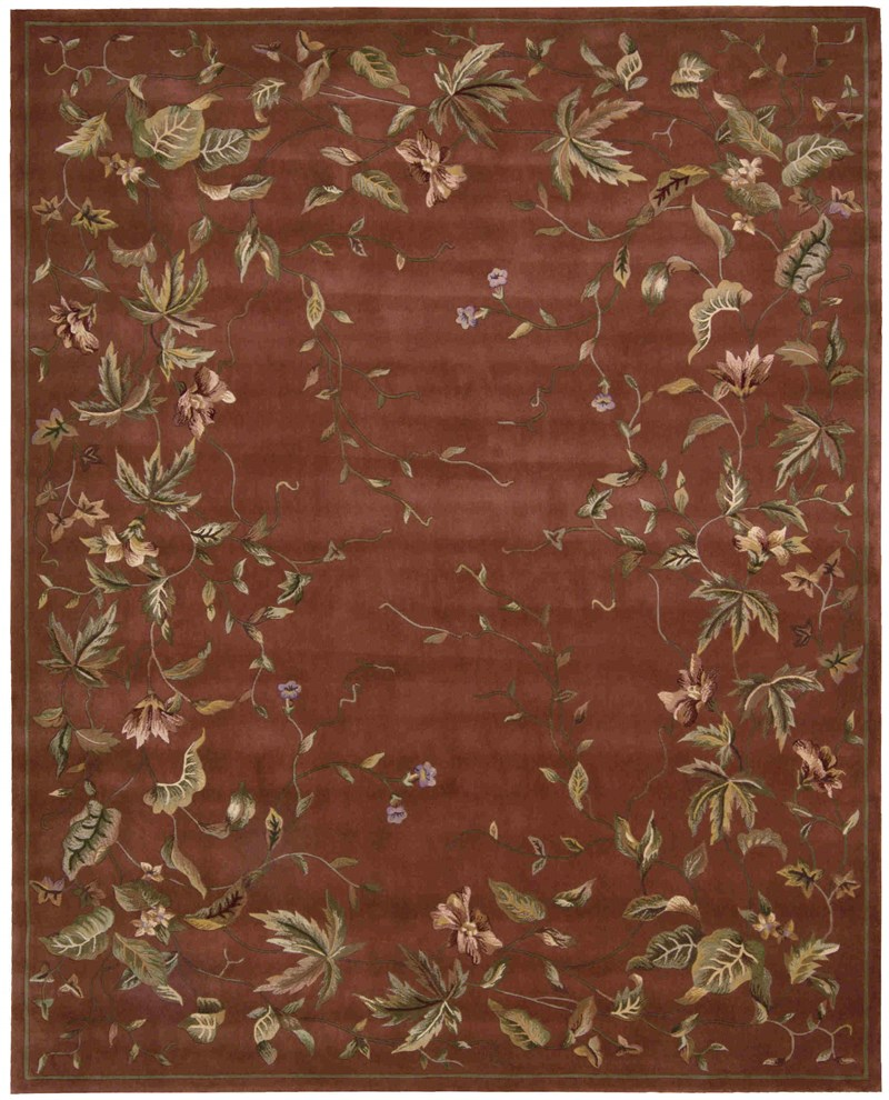 Julian Hand Tufted Persimmon Area Rugs