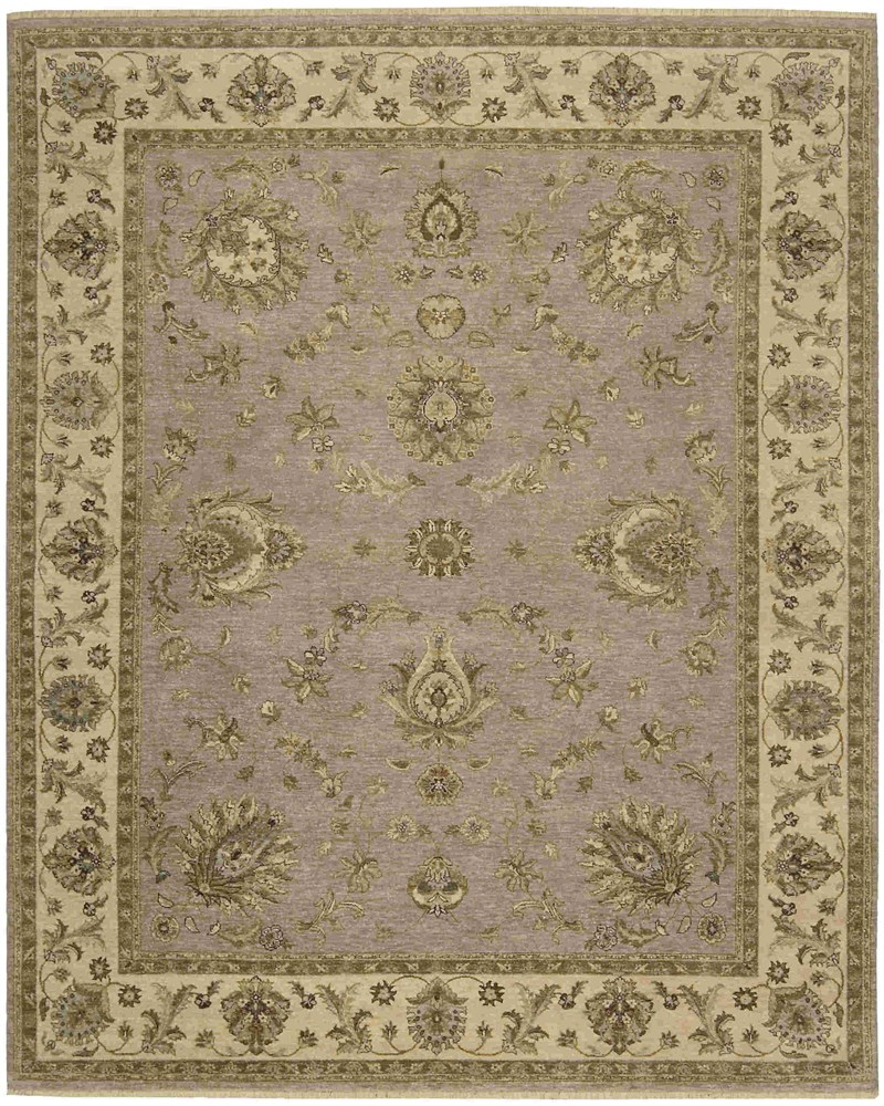 Legend Hand Knotted Grey Area Rugs