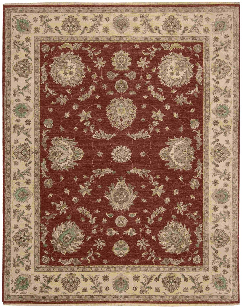 Legend Hand Knotted Red Area Rugs