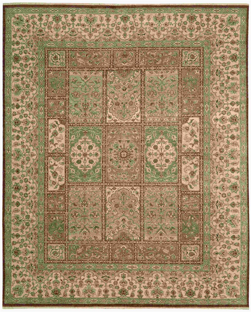 Legend Hand Knotted Multicolor Area Rugs