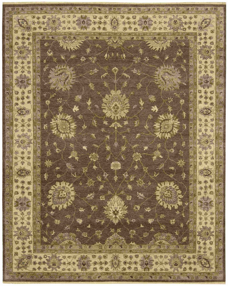 Legend Hand Knotted Chocolate Area Rugs