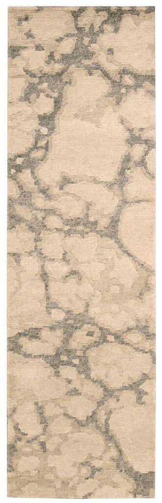 Tahoe Modern Hand Knotted Linen Grey Area Rugs