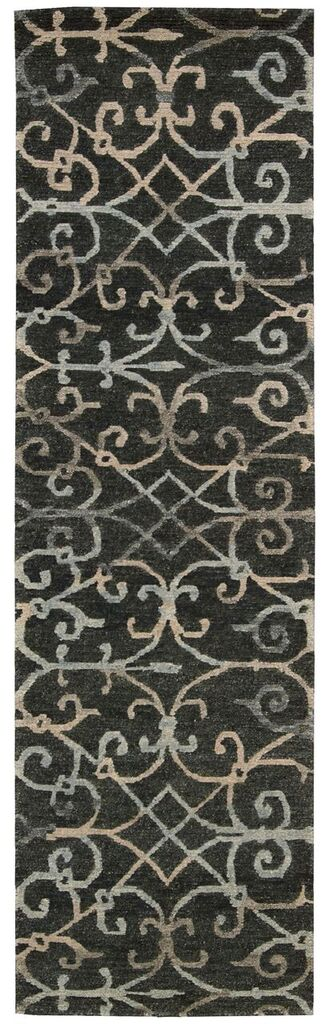 Tahoe Modern Hand Knotted Charcoal Area Rugs
