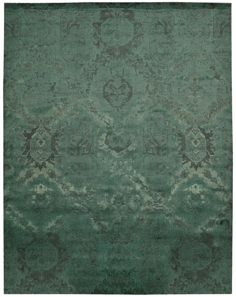 Nightfall Machine Woven Absinthe Area Rugs