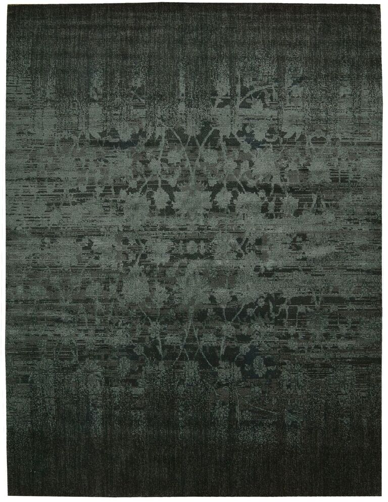 Nightfall Machine Woven Hunter Green Area Rugs