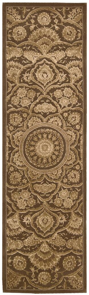 Regal Hand Tufted Chocolate Area Rugs